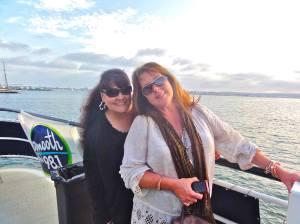 Debbie Cruz and me