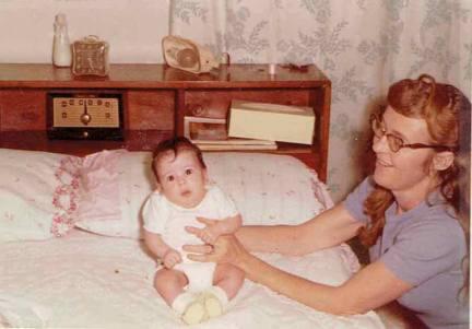 Baby Kelly & Aunt Sue