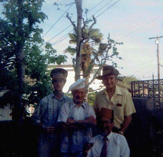 Men in Party Hats