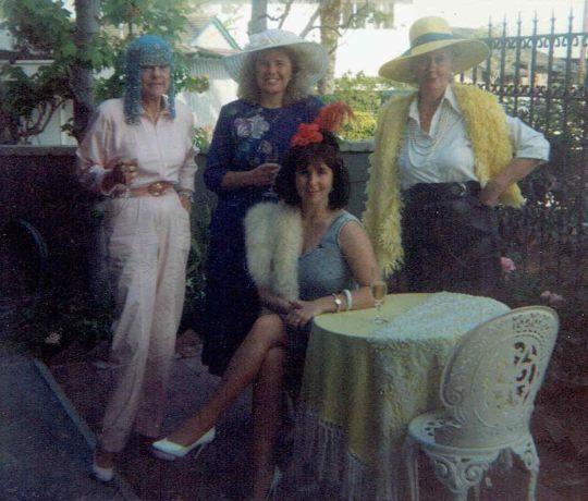 Women in Party Hats